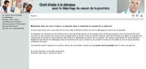Ouils decision cancer prostate